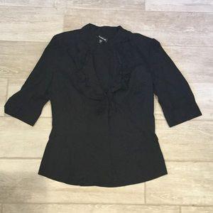 Black Bebe blouse